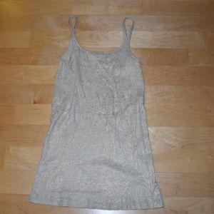 J. Crew Tops - Jcrew Cream and Gold Shimmer Cami
